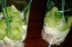 Smeerkaas met beeham en komkommer